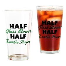 Half Glass Blower Half Zombie Slayer Drinking Glas