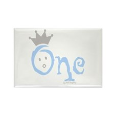"Onederful ""One"" (boy) Rectangle Magnet"