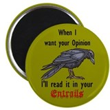 "Cute Raven 2.25"" Magnet (10 pack)"