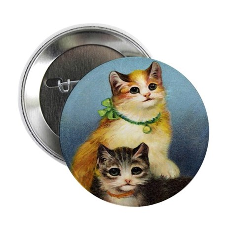 "Cute Kittens 2.25"" Button (100 pack)"