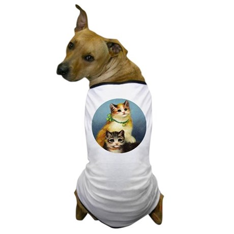 Cute Kittens Dog T-Shirt