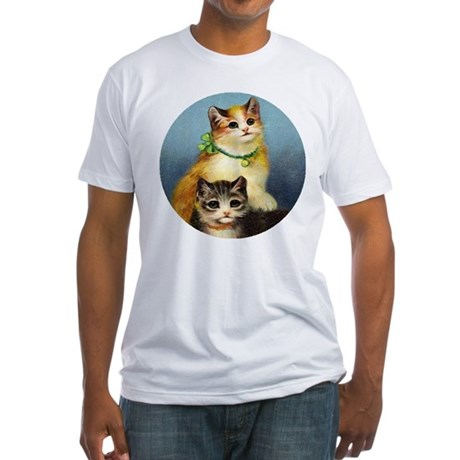 Cute Kittens Fitted T-Shirt