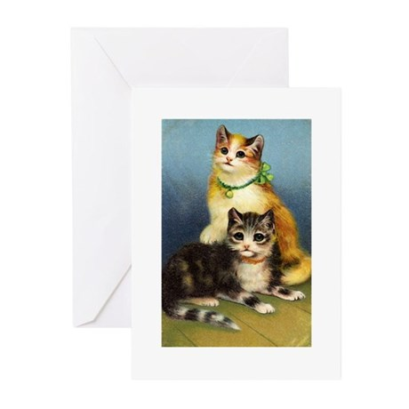 Cute Kittens Greeting Cards (Pk of 10)