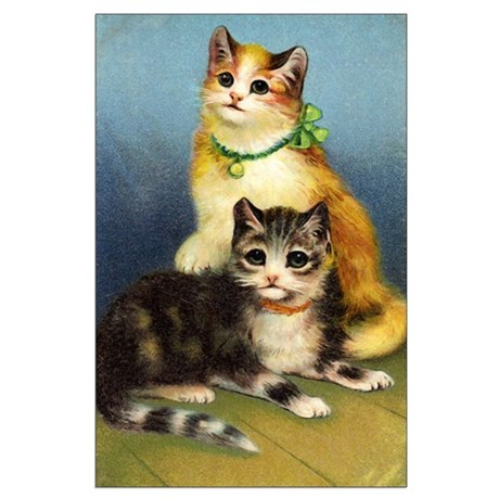 Cute Kittens Large Poster