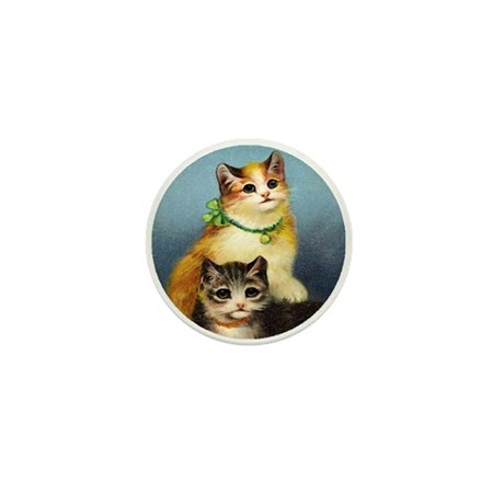 Cute Kittens Mini Button
