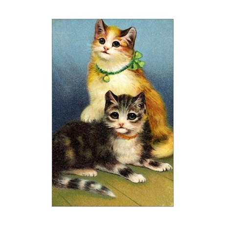 Cute Kittens Mini Poster Print