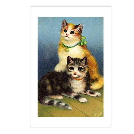 Cute Kittens Postcards (Package of 8)