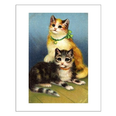 Cute Kittens Small Poster