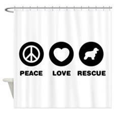 American Water Spaniel Shower Curtain
