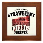 Strawberry Fields Beatle Framed Tile
