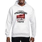 Strawberry Fields Beatle Hooded Sweatshirt