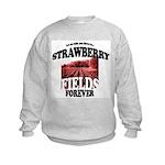 Strawberry Fields Beatle Kids Sweatshirt