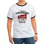 Strawberry Fields Beatle Ringer T