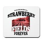 Strawberry Fields Beatle Mousepad