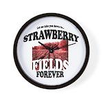Strawberry Fields Beatle Wall Clock