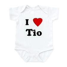 I Love Tio Onesie