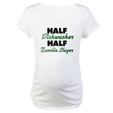 Half Dishwasher Half Zombie Slayer Shirt