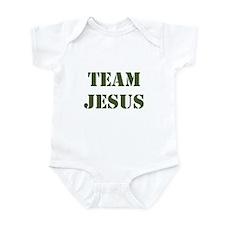 OD Green Team Jesus Infant Bodysuit