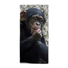 Chimpanzee002 Beach Towel