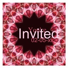 Mandala 108 Invitations