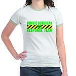 Zombie Outbreak Response Team Jr. Ringer T-Shirt