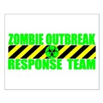 Zombie Outbreak Response Team Small Poster