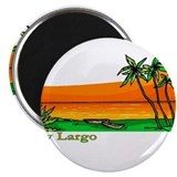 "Key Largo, Florida 2.25"" Magnet (100 pack)"