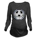 BASEBALL2.png Long Sleeve Maternity T-Shirt