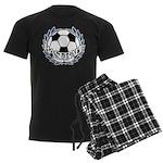 BASEBALL2.png Men's Dark Pajamas