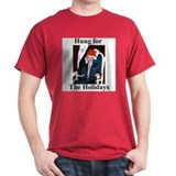 Saddam Hussein Hung for the Holidays T-Shirt