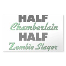 Half Chamberlain Half Zombie Slayer Decal