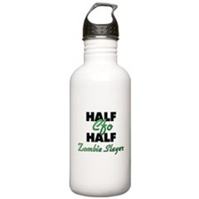 Half Cfo Half Zombie Slayer Water Bottle