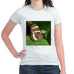Butterfly pic Jr. Ringer T-Shirt