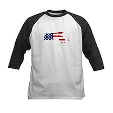Massachusetts American Flag Baseball Jersey