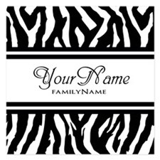 Custom Animal Print Invitations