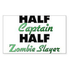 Half Captain Half Zombie Slayer Decal