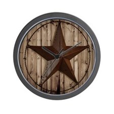 western texas star Wall Clock