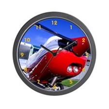 Cute Flight school Wall Clock