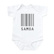 SAMOA Barcode Infant Bodysuit