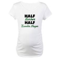 Half Barber Half Zombie Slayer Shirt