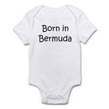 Born in Bermuda Onesie