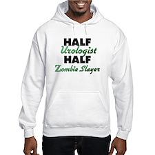 Half Urologist Half Zombie Slayer Hoodie