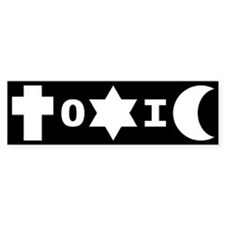 ToXiC Faith Logo Bumper Bumper Sticker
