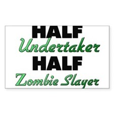 Half Undertaker Half Zombie Slayer Decal