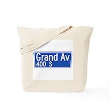 Grand Ave., Los Angeles - USA Tote Bag