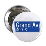 Grand Ave., Los Angeles - USA Button