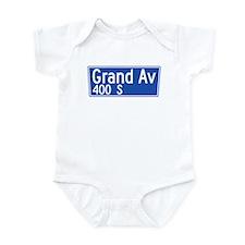 Grand Ave., Los Angeles - USA Infant Bodysuit