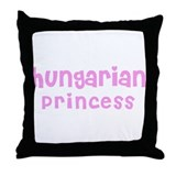 Hungarian Princess Throw Pillow