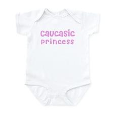 Caucasic Princess Infant Bodysuit
