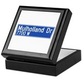 Mulholland Dr., Los Angeles - USA Keepsake Box